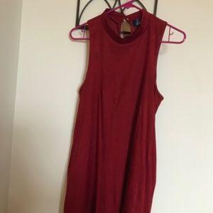 Dresses & Skirts - Pretty Red/Burgundy Sheath Dress